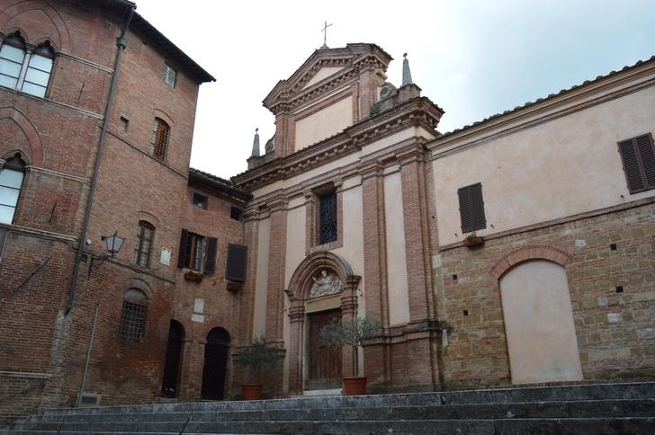 Сиена, церковь
