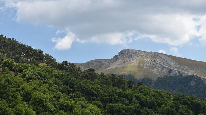 Горы - самые красивые места в Крыму
