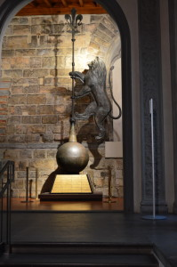 Флюгер в виде льва, символа Флоренции