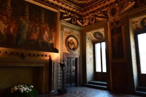 Одна из комнат в Палаццо Веккьо