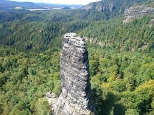 Скалы и леса Чешской Швейцарии