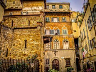 Флоренция, дворик