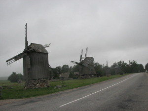 Мельницы в Агла