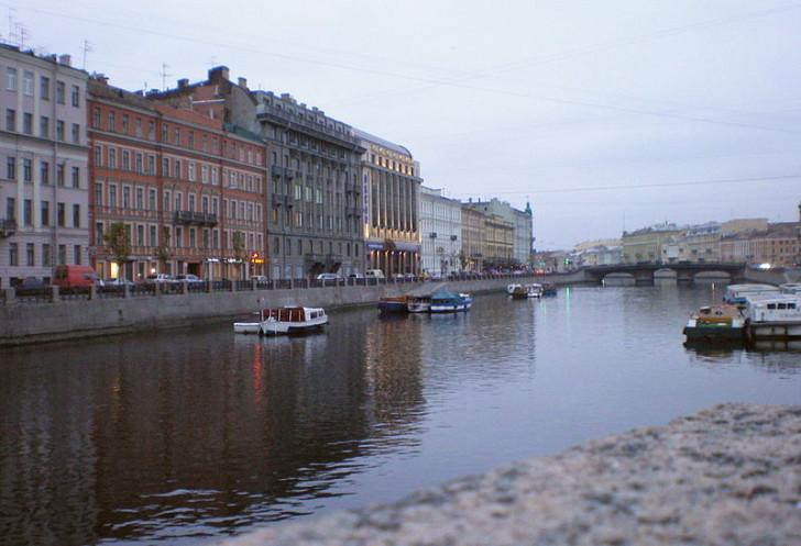Река Фонтанка, СПб