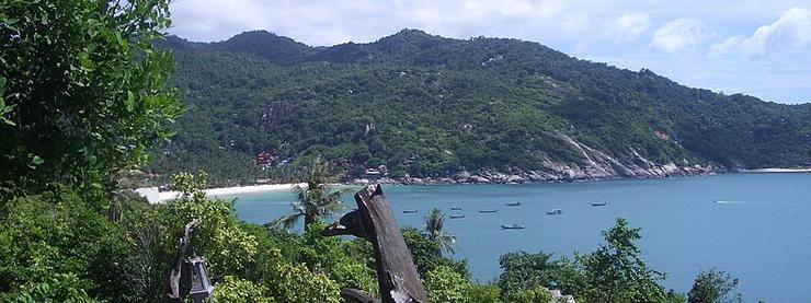 Панган, пляж Хаад Рин Нок