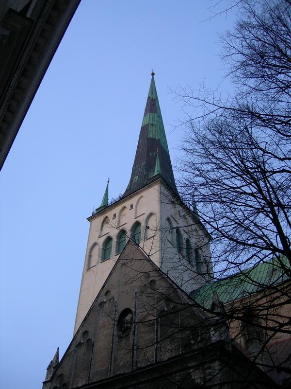 Церковь святого Олафа в Таллине