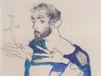 Густав Климт - рисунок Шиле