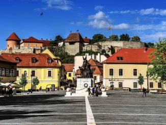 Эгерская крепость Венгрия