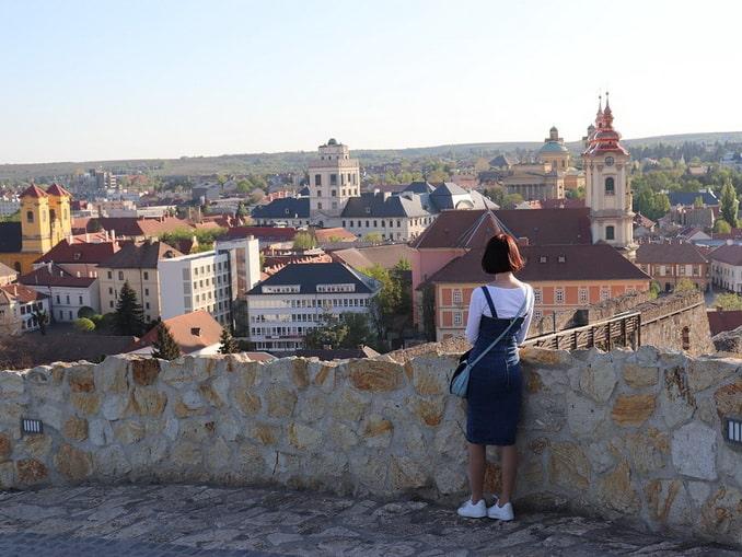 Вид с Эгерской крепости
