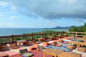Ко Панган, вид на берег