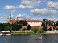Вавельский замок и Висла