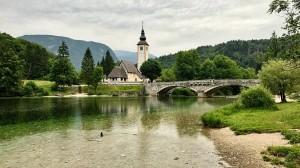 Рыбчев Лаз, Словения