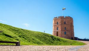 Башня Гедимина (Гедиминаса) в Вильнюсе