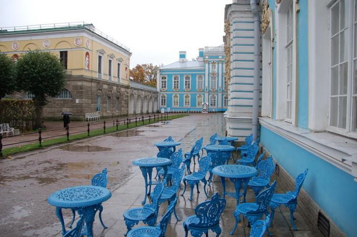 Зубовский флигель Екатерининского дворца и Агатовые комнаты