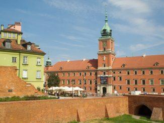 Королевский дворец Варшавы и Старый город