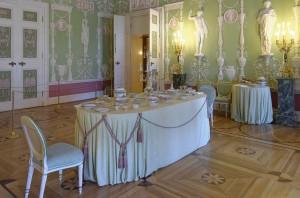 Зеленая столовая Екатерининского дворца