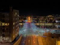 Турку: ночь, дорога