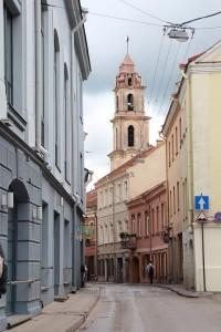 Улочка старого Вильнюса