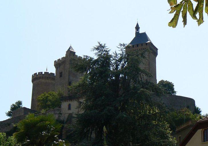 Замок Фуа фото Slastic
