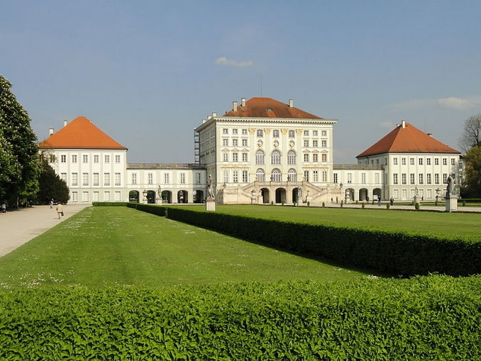 Дворец Нимфенбург в Мюнхене
