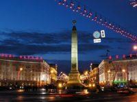Минск вечерний, фото Mikkalai