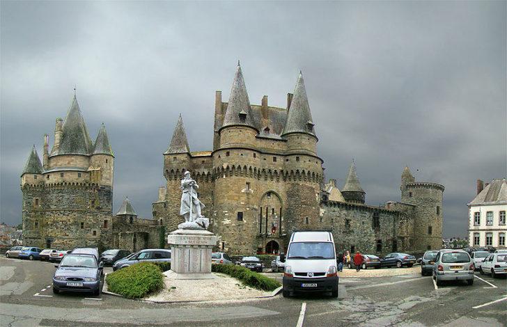 Замок Витре, Бретань фото Tango7174