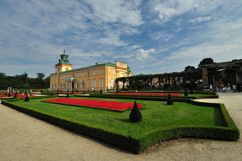Вилянувский дворец и парк