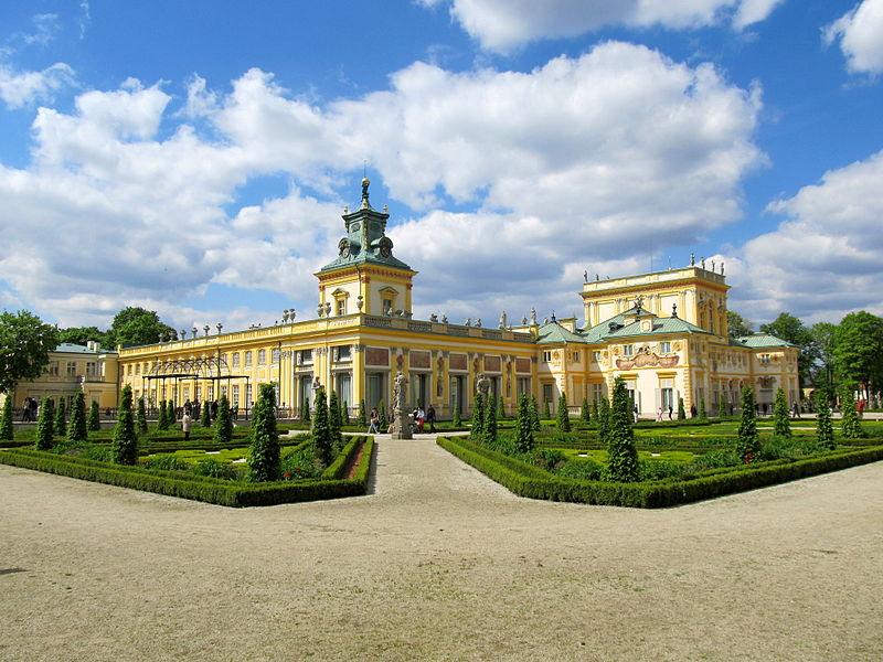 Вилянувский дворец, Польша