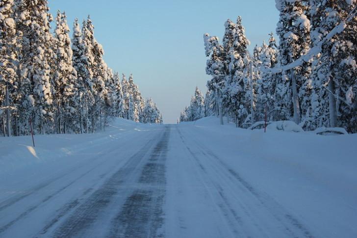 Финляндия, дорога