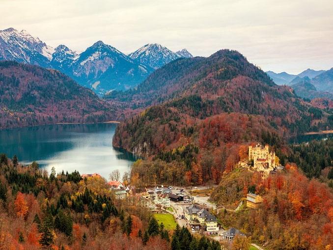 Замок Хоэншвангау, Бавария