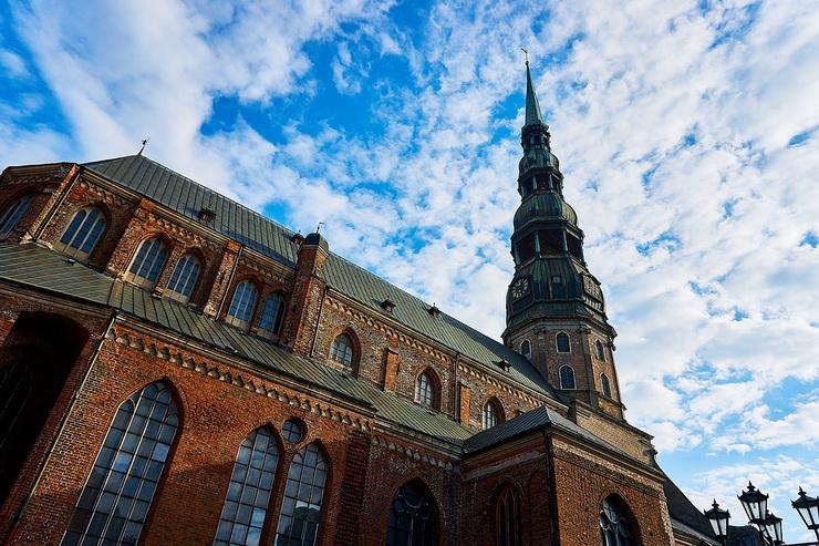 Церкковь святого Петра, Рига
