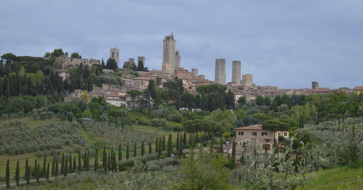 Сан-Джиминьяно, Тоскана