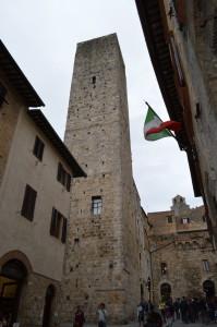 Башня в Сан-Джиминьяно