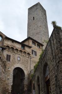 Башня в Сан-Джиминьяно, Италия