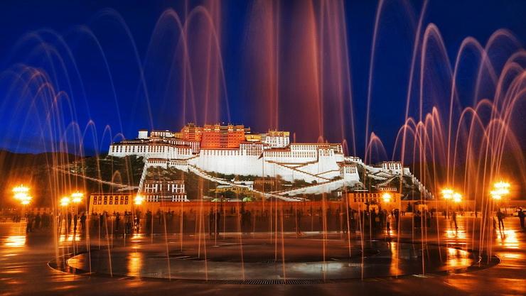 Дворец Потала в Лхасе