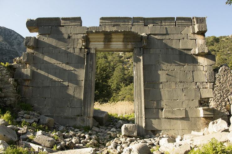 Олимпос, Турция