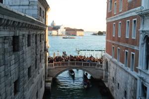 "Вид из окна ""Моста вздохов"", Венеция"