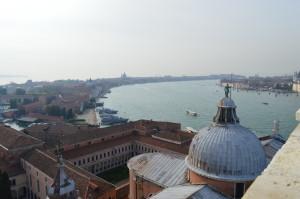 Вид на Джудекку с колокольни Сан-Джордже-Маджоре