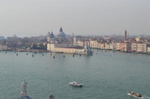 Венеция: здесь сходятся Гранд-канал и Джудекка