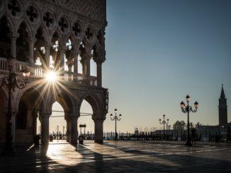 Венеция, солнце