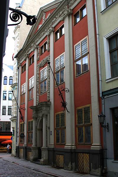 Дом Рейтерна в Риге, фото Smig