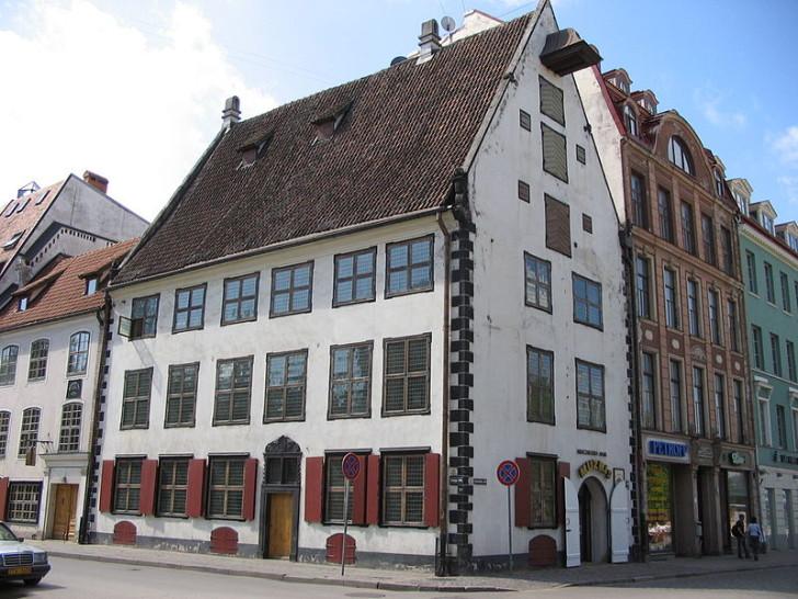 Дом Менцендорфа в Риге, фото Boerkevitz