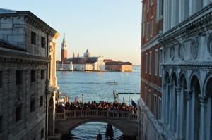"""Венеция, вид с """"Моста вздохов"""""""