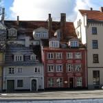 Старый город Риги замечательные дома