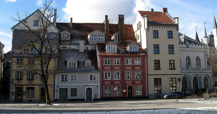 Старый город Риги, фото Dezidor