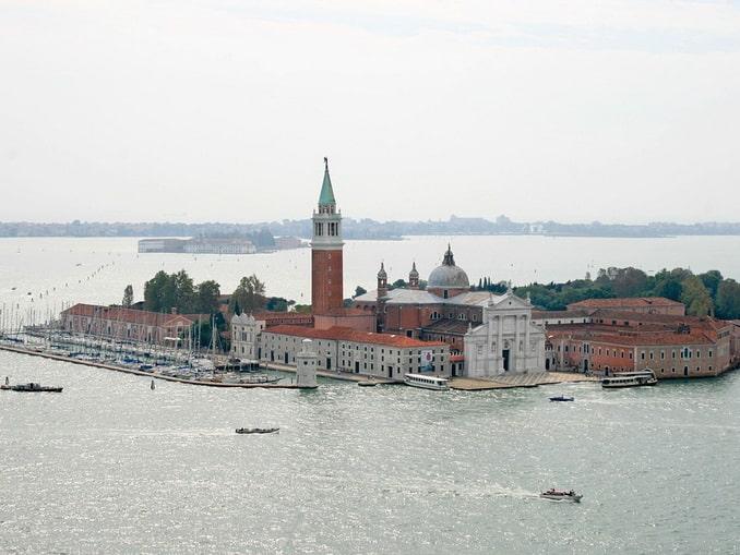 Остров и церковь Сан-Джорджо-Маджоре в Венеции