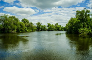 Река Ахтуба, Астраханская область