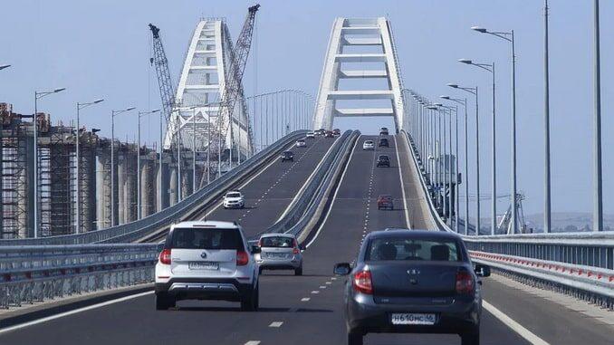 Мост - как поехать на машине в Крым?