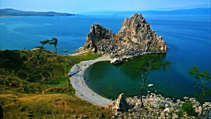 Скала Шаманка, Байкал