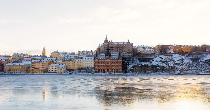 Стокгольм зимой